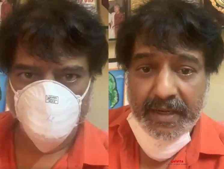 Comedian Vivekh video on wearing masks to protect from Corona - Tamil Movie Cinema News