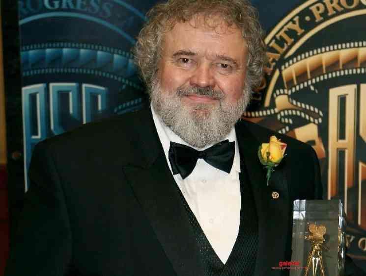 Hollywood cinematographer Allen Daviau passes away due to Corona - Tamil Movie Cinema News
