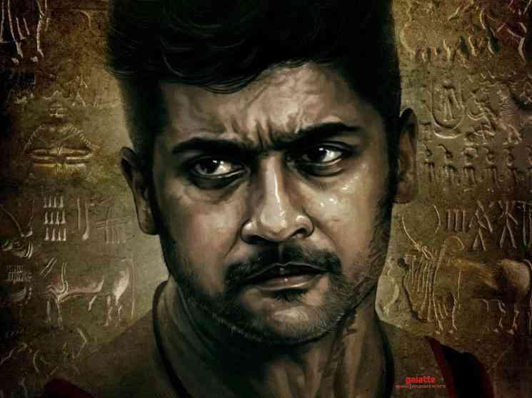 Vaadivaasal character look Suriya Vetri Maaran - Tamil Movie Cinema News