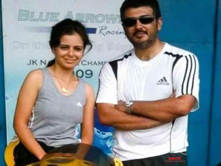 Alisha Abdullah clarifies rumours about Ajith Kumar - Tamil Movie Cinema News