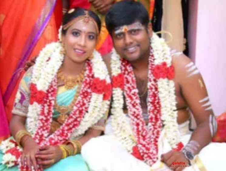 Actor Kumki Ashwin gets married to girlfriend Vidya sri - Tamil Movie Cinema News