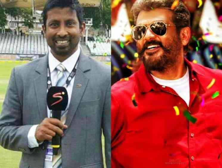 Russel Arnold reveals that Thala Ajith is his favourite hero - Tamil Movie Cinema News