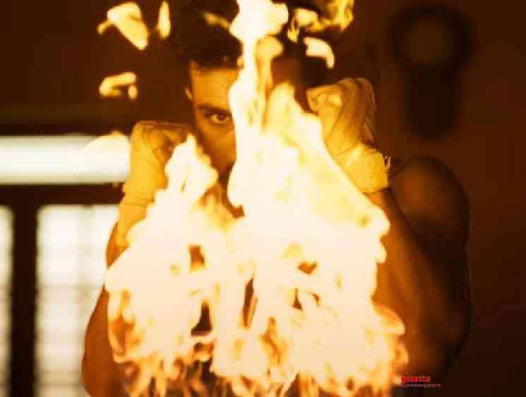 Rajamouli RRR New Teaser introducing Ramcharan as Ramaraju - Tamil Movie Cinema News