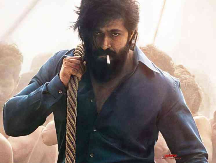Yash KGF Chapter 2 to release on October 23 officially announced - Tamil Movie Cinema News