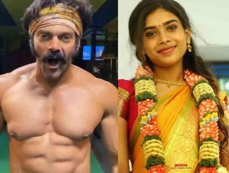 Actress Dushara to play the female lead in Arya Pa Ranjith film - Tamil Movie Cinema News