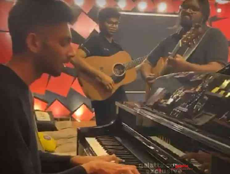 Anirudh performance of Kutti Story and Quit Pannu Da from Master - Tamil Movie Cinema News