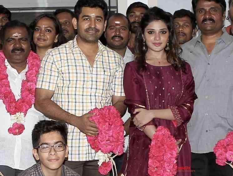 Vijay Antony pairs Aathmika for his next director Ananda Krishnan - Tamil Movie Cinema News
