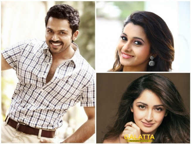 Arthana Joins Karthi In Pandiraj Suriya Film