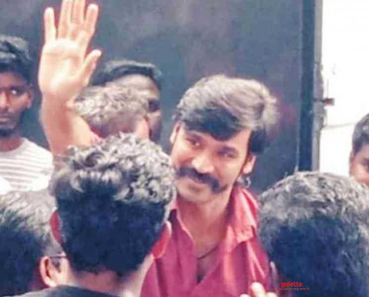 பழனி கோவிலில் சாமி தரிசனம் செய்த தனுஷ் !- Tamil Movies News