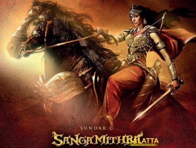 Shruti Haasan Is Not in Sangamithra Anymore