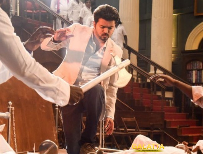 How Has Vijay's SARKAR Performed On Monday?