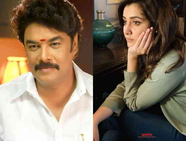Raashi Khanna begins shooting for Sundar C's Aranmanai 3 - shares picture from the shooting - Tamil Cinema News