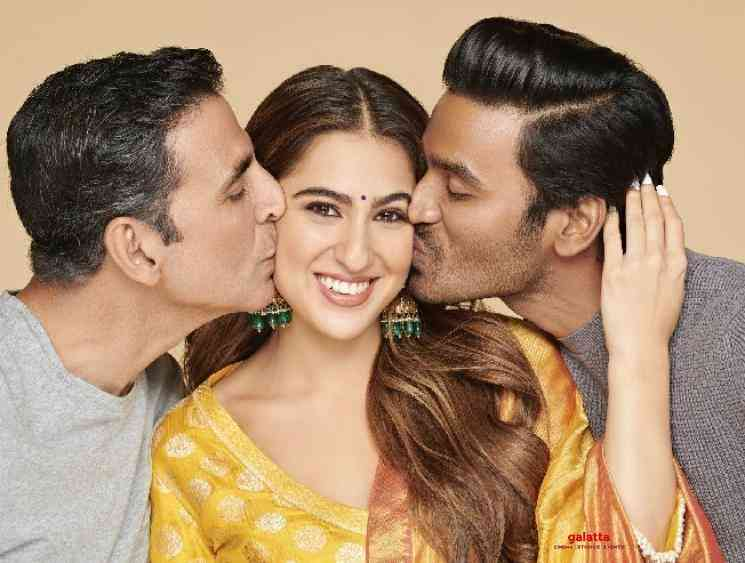 Dhanush's next Hindi film titled as Atrangi Re - first look pictures go viral | Akshay Kumar - Tamil Cinema News