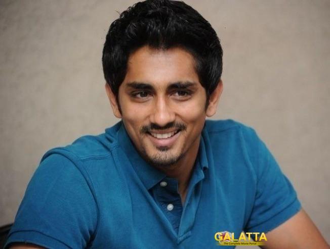 Siddharth's Next Movie Is With Vijay Sethupathi's Producer!