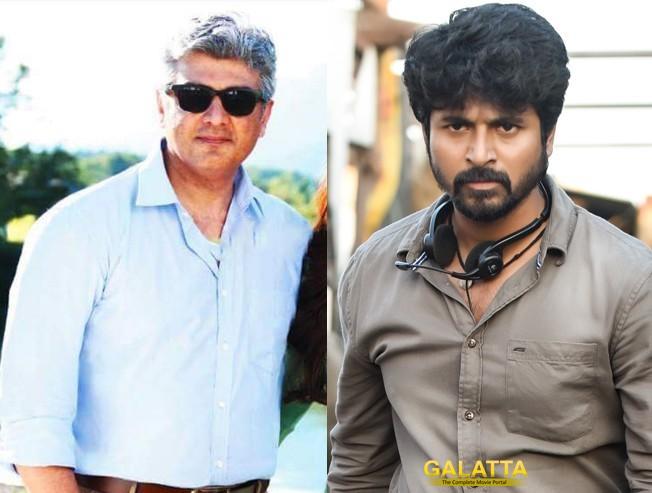 sivakarthikeyan with thala ajith - Tamil Movie Cinema News