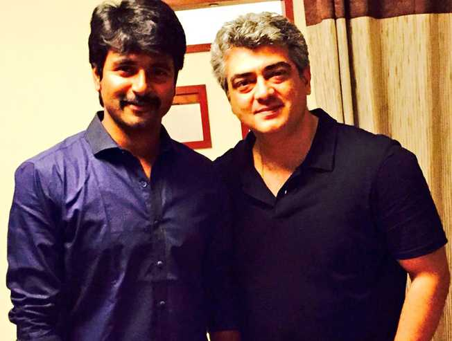 Nerkonda Paarvai trailer appreciated by Sivakarthikeyan saying it is a pure class one