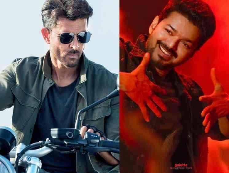 Hrithik Roshan talks about Thalapathy Vijay and Allu Arjun dance - Tamil Movie Cinema News