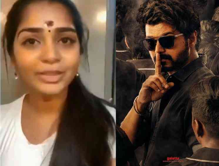 Gouri Kishan emotional video about Master shoot wrap up - Tamil Movie Cinema News