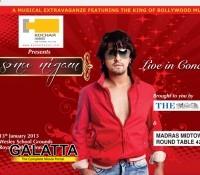Sonu Nigam live in Chennai!