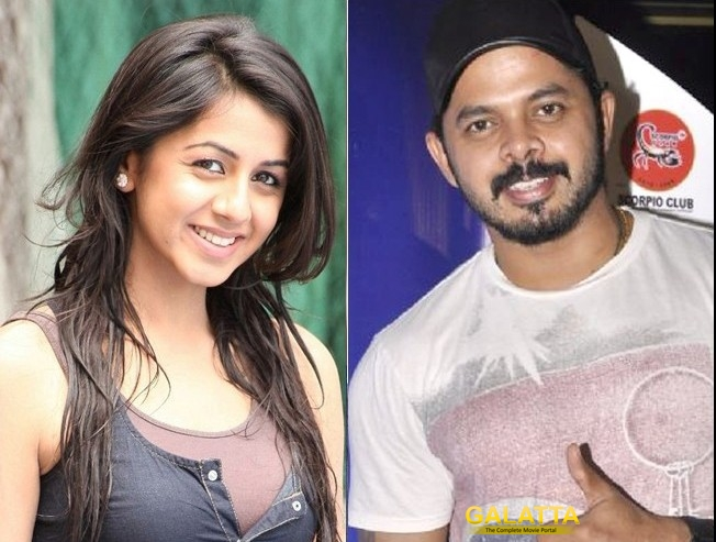 Sreesanth has Now Paired with Nikki Galrani