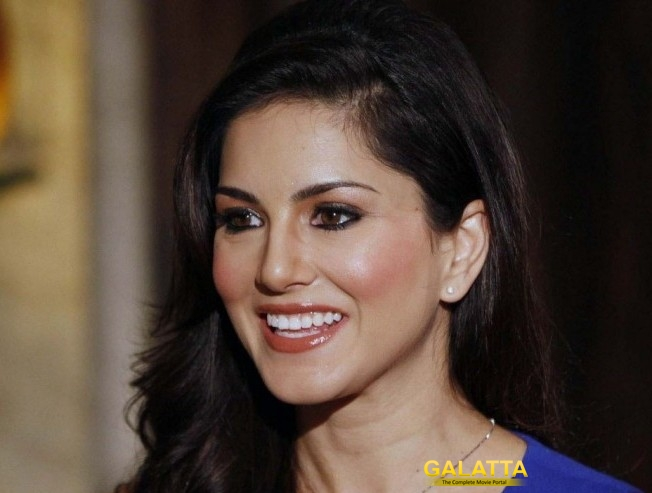 One half of Sunny Leone Tamil movie title reveal