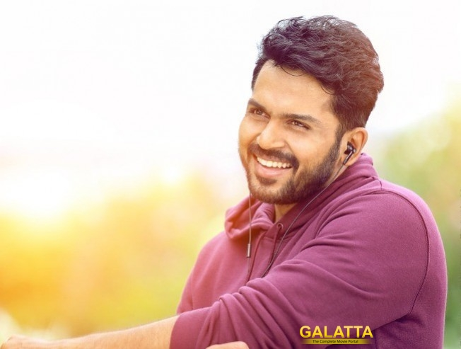 Karthi Cop Movie DEV Teaser Official Release Date Announced