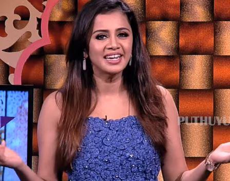 VJ Anjana To Host Natchathira Jannal Celebrity Talk Show In PuthuYugam TV Channel - Tamil Movie Cinema News