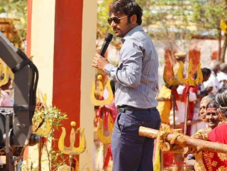RJ Balaji Nayanthara Mookuthi Amman first schedule shoot wrapped - Tamil Movie Cinema News