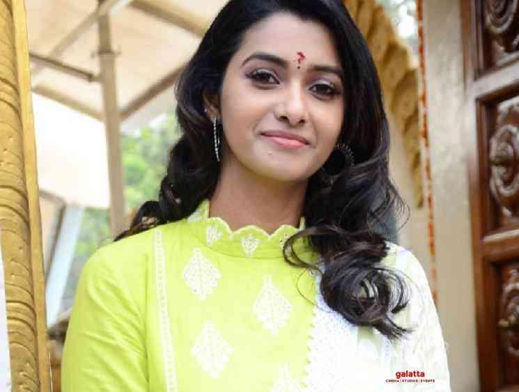 Priya Bhavanishankar female lead in Manoj Manchu Aham Brahmasmi - Tamil Movie Cinema News