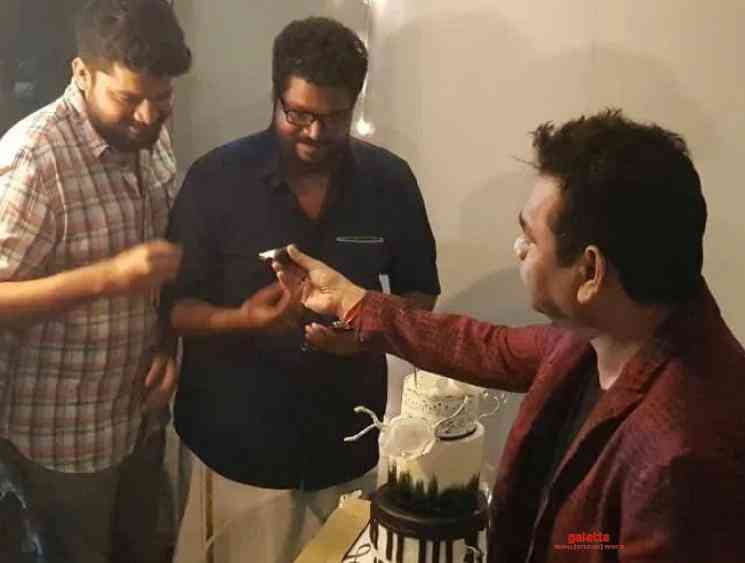 AR Rahman wishes director Ajay Gnanamuthu for Cobra to be a hit - Tamil Movie Cinema News