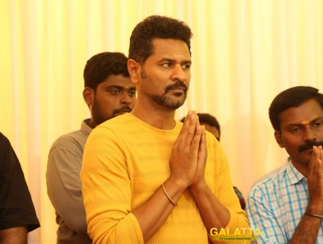 Prabhu Deva's Next Gets A Deadly Title