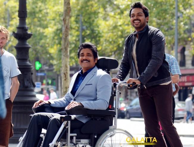 Para-gliding, car racing for Thozha was fun: Nagarjuna