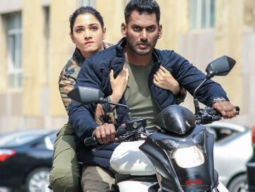 Vishal Tamannaah Action trailer to release for Diwali on Oct 27  - Tamil Movie Cinema News