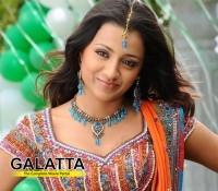 Trisha to act opposite Srinivas Reddy?