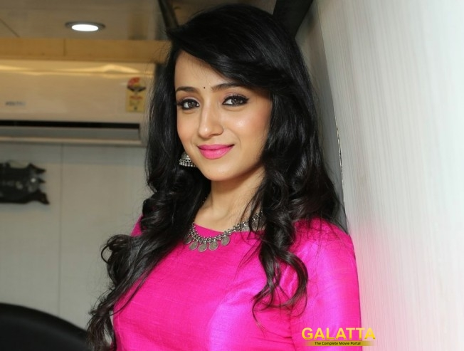 Trisha clarifies on her love life