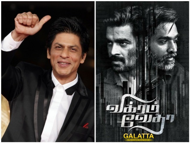 Shah Rukh Khan Wants To Play Vijay Sethupathi Role In Vikram Vedha Remake Under Neeraj Pandey Direction