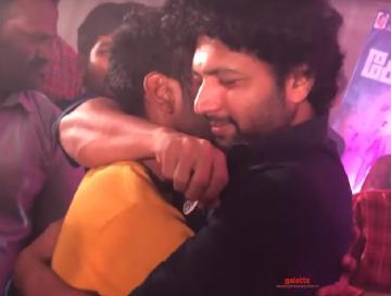 Jayam Ravi Comali success party video fans celebration