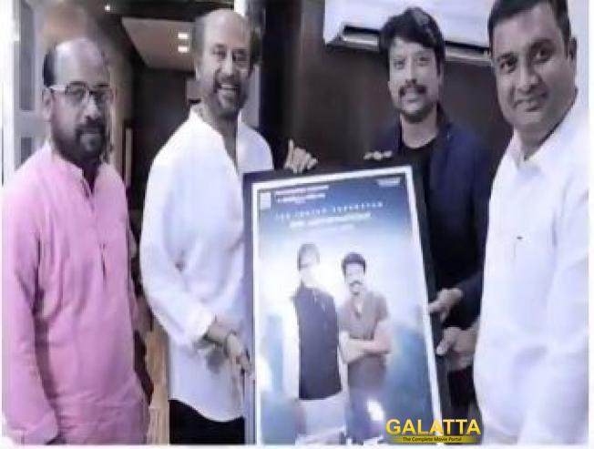 Big One: Rajinikanth Unveils Amitabh Bachchan - SJ Suryah's Uyarndha Manidhan Poster!