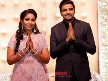 Comedy actor Sathish gets married to Sindhu Wedding Photos - Tamil Movie Cinema News