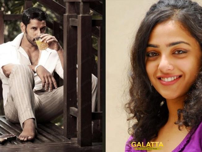 Nithya Menon joins Vikram and Nayantara