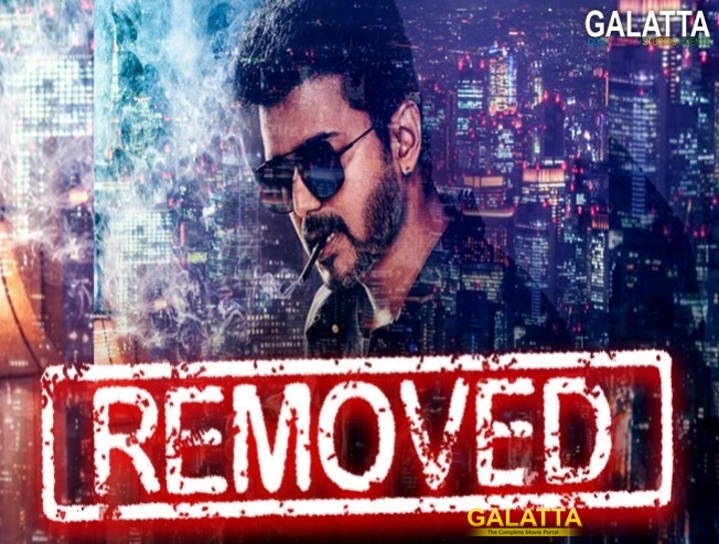 Sarkar Controversial Thalapathy Vijay Smoking Picture Deleted By Sun Pictures
