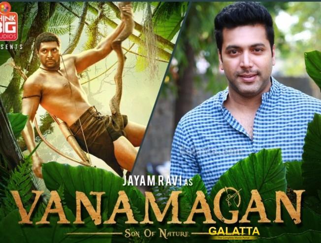 Vanamagan has Just Six Dialogs for Jayam Ravi