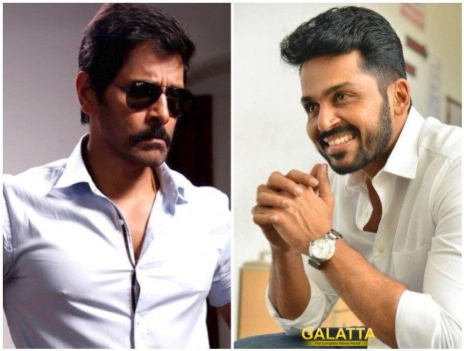 Saamy Square And Karthi 17 - The Common Connect