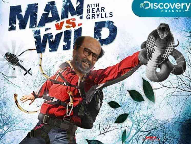 Rajinikanth to feature in Man Vs Wild show with Bear Grylls - Latest  Movie News