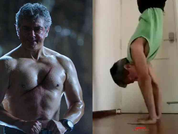 Ajith Kumar brother Anil Kumar exercise video  - Tamil Movie Cinema News