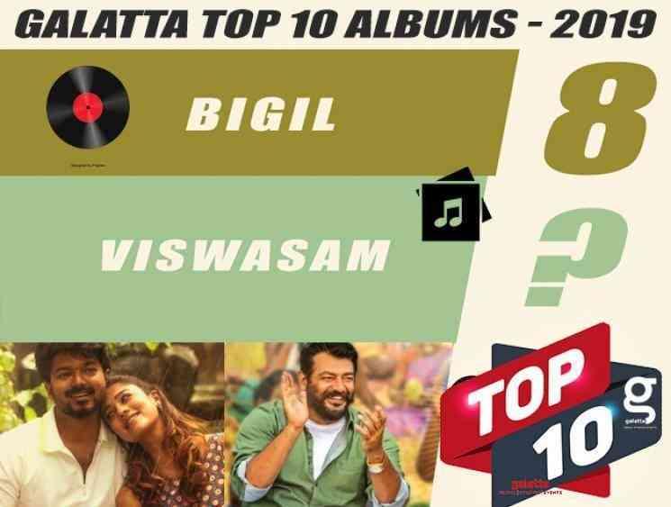Top 10 albums of 2019 AR Rahman Anirudh Vijay Ajith - Tamil Movie Cinema News