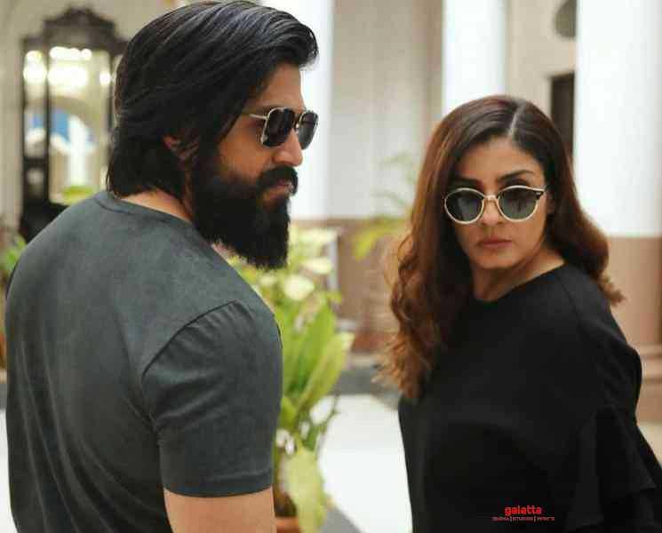 கே.ஜி.எப் 2 ஷூட்டிங் குறித்த சிறப்பு தகவல் !- Latest Tamil Cinema News