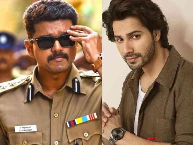 Varun Dhawan said to play the lead in Vijay Theri Hindi remake - Tamil Movie Cinema News