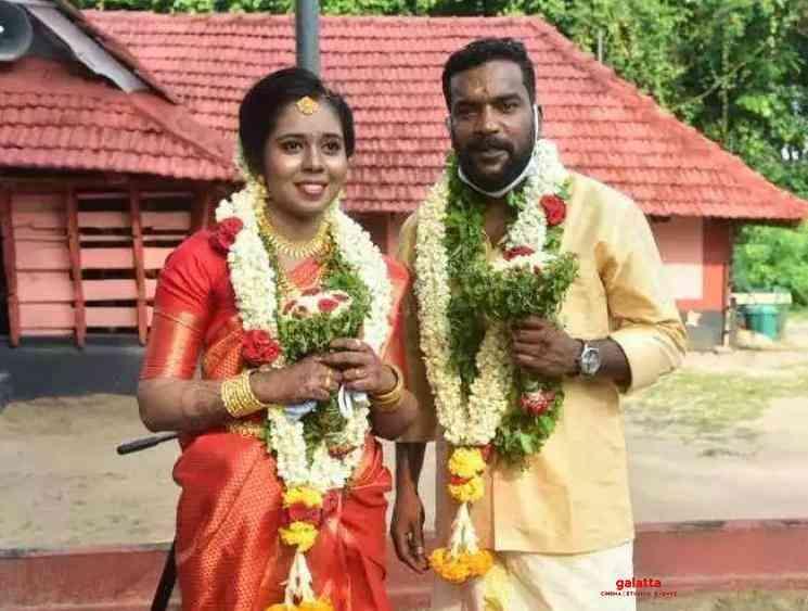 Petta actor Manikandan Achari gets married during the lock down - Tamil Movie Cinema News