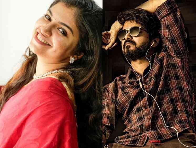 Dubbing artist Raveena talks about Thalapathy Vijay Master - Tamil Movie Cinema News